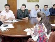 لاہور: صوبائی وزیر اطلاعات و ثقافت فیاض الحسن چوہان ڈی جی پی آر کے ڈیجیٹل ..