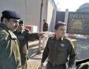 لاہور: ایس پی اقبال ٹاؤن سید علی چینی قونصل خانے کا دورہ کر کے سیکیورٹی ..
