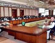 اسلام آباد: وزیراعظم شاہد خاقان عباسی ایگزیکٹو کمیٹی کے اجلاس کی صدارت ..