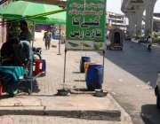 راولپنڈی: ٹی ایم اے کی نا اہلی کے باعث مری روڈ پر ایک دکاندار نے فٹ پاتھ ..