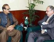 اسلام آباد: وفاقی وزیر برائے نیشنل ہیلتھ سروسز، ریگولیشن اینڈ کوآرڈینیشن ..