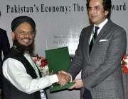 اسلام آباد: وفاقی وزیر برائے منصوبہ بندی ترقی و اصلاحات مخدوم خسرو ..