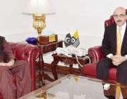 اسلام آباد: وزیراعظم آزاد کشمیر سردار مسعود خان سے کونسلر لیبر پارٹی ..