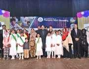 راولپنڈی: وفاقی وزیر ریلوے شیخ رشید احمد کا سپیشل افراد کے عالمی دن ..