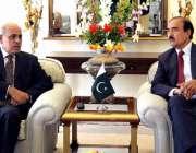اسلام آباد: گورنر پنجاب ملک محمد رفیق رجوانہ سے ممبر وزیراعظم انسپکشن ..