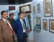 اسلام آباد: وز یر مملکت برائے لاء اینڈ جسٹس ڈاکٹر محمد فروغ نسیم نیشنل ..