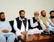 اسلام آباد: متحدہ مجلس عملک اسلام آباد کی جانب سے قومی اسمبلی کے تینوں ..