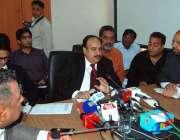 اسلام آباد: ڈپٹی ڈائریکٹر جنرل آف پاکستان سول ایوی ایشن اتھارٹی عامر ..