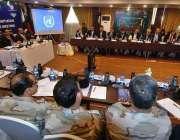 اسلام آباد: سیکٹری نارکوٹکس عارف نواز خان اجلاس کی صدارت کررہے ہیں۔