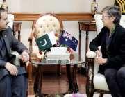 لاہور: وزیر اعلیٰ پنجاب سردار عثمان بزدار سے آسٹریلیا کی ہائی کمشنر ..