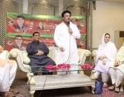 لاہور: تحریک انصاف کے حلقہ این اے127سے امیدوار جمشید اقبال چیمہ پی ٹی ..