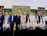 اسلام آباد: ملک عشرت باری کی صاحبزادی کی شادی میں سابق وزیراعظم یوسف ..