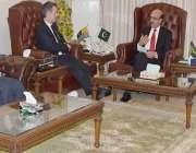 مظفر آباد: صدر آزاد کشمیر سردار مسعود خان برطانوی پارلیمنٹ میں کل جماعتی ..