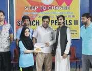پشاور: ٹیبل ٹینس کے عالمی کھلاڑی اور خیر سگالی سفیر ابصار علی کی فاؤنڈیشن ..