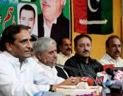 اسلام آباد: پاکستان پیپلز پارٹی آزاد کشمیر کے صدر چوہدری لطیف اکبر ..