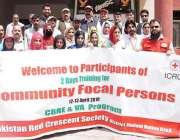 ہٹیاں بالا: پاکستان ریڈ کریسنٹ کے زیر اہتمام ورکشاپ کے اختتام پر ایڈمنسٹریٹر ..