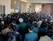 راولپنڈی: لاہور میں عدالتی اہلکار پر مبینہ تشدد کے خلاف پنڈی کچہری ..