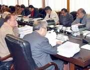 مظفر آباد: وزیراعظم آزاد کشمیر راجہ فاروق حیدر خان کابینہ ترقیاتی کمیٹی ..