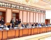 اسلام آباد: وزیر اعظم عمران خان کی زیر صدارت نیشنل کاؤنٹر ٹیررازم اتھارٹی ..