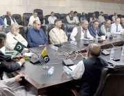 مظفر آباد: وزیر جنگلات سردار میر اکبر خان بیلین ٹری منصوبے کے حوالے ..