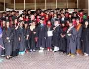 راولپنڈی: ایرڈ یونیورسٹی کے19ویں کانووکیشن کے موقع پر فارغ التحصیل ..