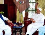 پشاور: گورنر خیبر پختونخوا انجینئر اقبال ظفر جھگڑاسے ایم این اے خیبر ..