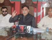 لاہور: پاکستان تحریک انصاف (نظریاتی) پارٹی کے چیئرمین اختر اقبال ڈار ..
