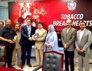 اسلام آباد: ڈاکٹر محمد اسائی ، محمد وقاص تارڑ ڈائریکٹر (TCC) کو ورلڈ نمبر ..