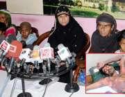 حیدر آباد: سائٹ ایریا شاہ لطیف کالونی کی رہائشی سائرہ زوجہ محمد شفیق ..