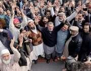 لاہور: آل پاکستان واپڈا ہائیڈر الیکٹر ورکرز یونین کے زیراہتمام خورشید ..