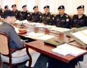 مظفر آباد: شعیب دستگیر انسپکٹر جنرل پولیس آزاد کشمیر، ڈی ایس پیز/ایس ..