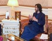 لاہور: گورنر پنجاب چوہدری محمد سرور سے ڈپٹی سپیکر پنجاب اسمبلی دوست ..