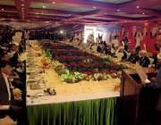 راولپنڈی: 23مارچ کے موقع پر سنٹرل ایشیا ممالک کے وفود کے اعزاز میں دیئے ..