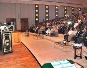 اسلام آباد: چیئرمین (NDMA)لیفٹیننٹ جنرل قمر محمود حیات قدرتی آفات سے آگاہی ..