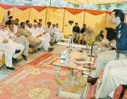 صو ابی: ڈی پی او سید خالد ہمدانی کو کھلی کچہری میں ایک بزرگ علاقے کے ..