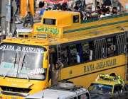 راولپنڈی: عید اپنے پیاروں کے ساتھ منانے کے لیے جانیوالے جڑواں شہروں ..