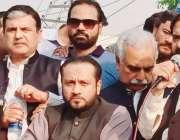 لاہور: مسلم لیگ (ن) کے زیر اہتمام اظہار یکجہتی کشمیر ریلی میں صوبائی ..