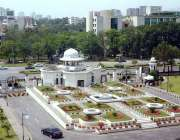 اسلام آباد: وزیر اعظم ہاؤس میں لگے موسمی پودوں کا خوبصورت منظر۔