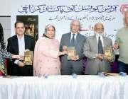 کراچی: آرٹس کونسل آف پاکستان کراچی میں منعقدہ اردو کی نامور شاعرہ ادیبہ ..