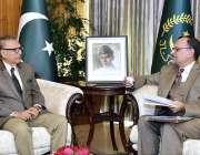 اسلام آباد: صدر مملکت ڈاکٹر عارف علوی سے وفاقی وزیر برائے سائنس اینڈ ..
