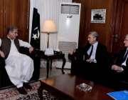 اسلام آباد: وزیر خارجہ مخدوم شاہ محمود قریشی سے اقوام متحدہ کے ہائی ..