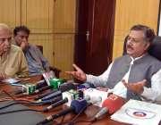 کوئٹہ: ڈپٹی انسپکٹر جنرل پولیس (CTD) بلوچستان اعتزاز احمد گورایہ پریس ..