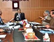 اسلام آباد:وزیر مملکت سید علی ظفر (NHLH)کے دورہ کے موقع پر اجلاس کی صدارت ..