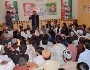 کوئٹہ: پشتونخوا ملی عوامی پارٹی کے نامزد امیدوار حلقہ پی بی28غلام فاروق ..