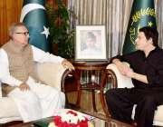 اسلام آباد: صدر مملکت ڈاکٹر عارف علوی سے وفاقی وزیر فیصل ڈاڈا ملاقات ..