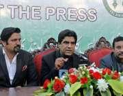 راولپنڈی: وزیر اعظم کے معاون خصوصی علی نواز اعوان پریس کلب میں میٹ دی ..