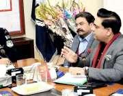 اسلام آباد: اسٹیٹ ایجنٹس ایسوسی ایشن کے صدر سردار طاہر محمود نے وفد ..