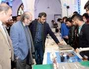 لاہور: وائس چانسلر پروفیسر ڈاکٹرحسن امیر شاہ جی سی یومیں شعبہ انجینئرنگ ..