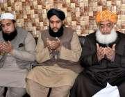 راولپنڈی: جمعیت علماء اسلام کے سربراہ مولانا فضل الرحمن، مولانا عبدامجید ..