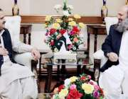 لاہور: وزیر اعلیٰ پنجاب سردار عثمان بزدار سے بلوچستان کے وزیر اعلیٰ ..